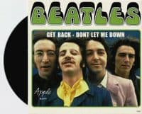 THE BEATLES Get Back Vinyl Record 7 Inch Apple 2019